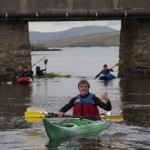 """Iain """"Two Paddles"""" Derbyshire gives the evening his approval"""