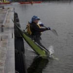 Ever the innovator, Jim tries to fly his boat....