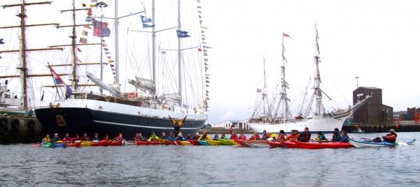 Tall Ships paddle image